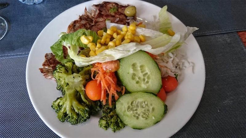 Terveellinen ruoka edistää palautumista
