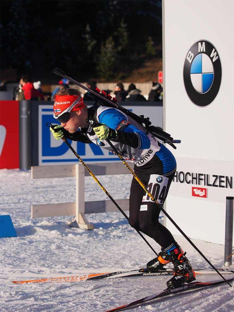Tuomas Grönman starttaa kilpailuun