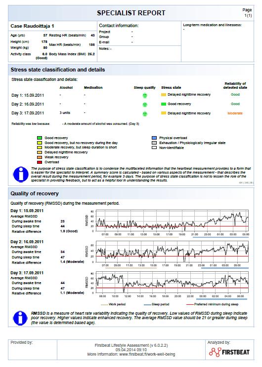 specialist-report