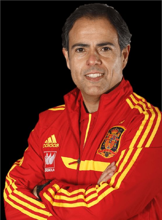 Javier Miñano, the athletic trainer Spanish men's national soccer team