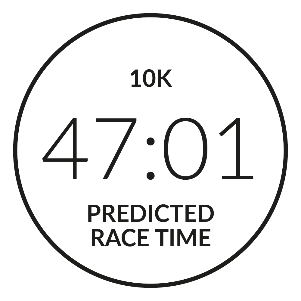Race Time Predictor - Firstbeat Feature