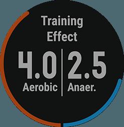 firstbeat training effect