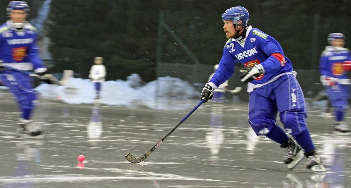 Suomen jääpallomaajoukkue mittasi palautumista Firstbeatin avulla