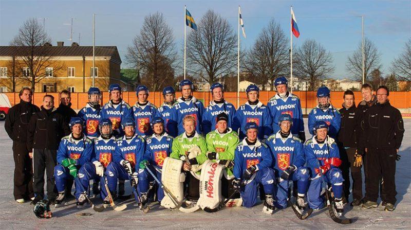Suomen jääpallon A-maajoukkue