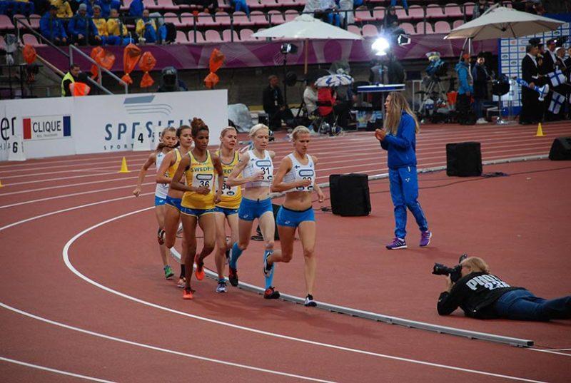 camilla richardsson at the track