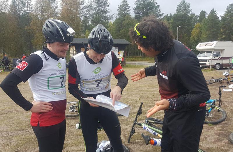 Kartanluku Lost in Kajaani -kilpailussa