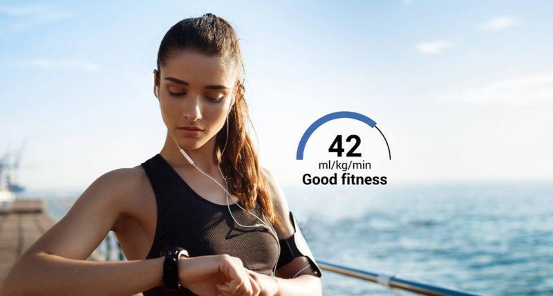 VO2 - good fitness level