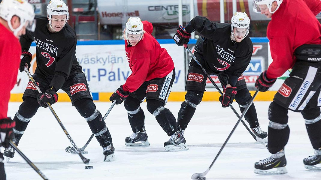 jyp ice hockey athlete monitoring