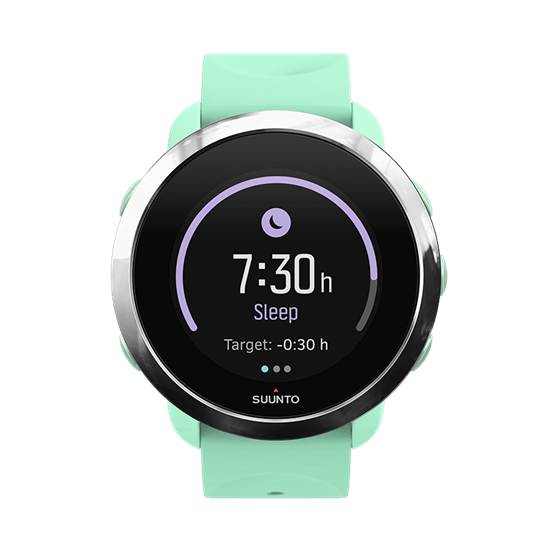 Suunto 3 Fitness tracks the quality of your sleep