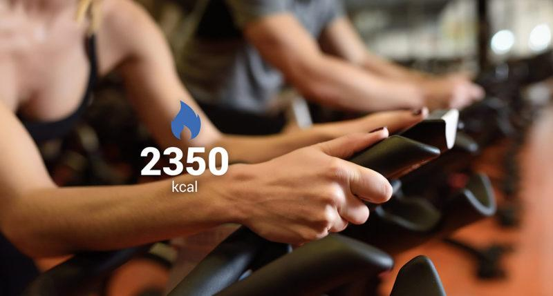 Calories Burned - energy expedinture depends on the activity level