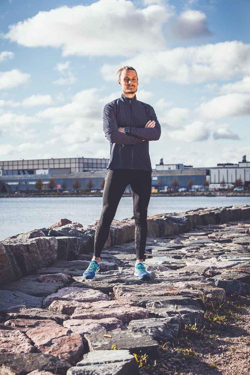 Joonas Laurila has learned the importance of stress and recovery data from his Garmin watch.