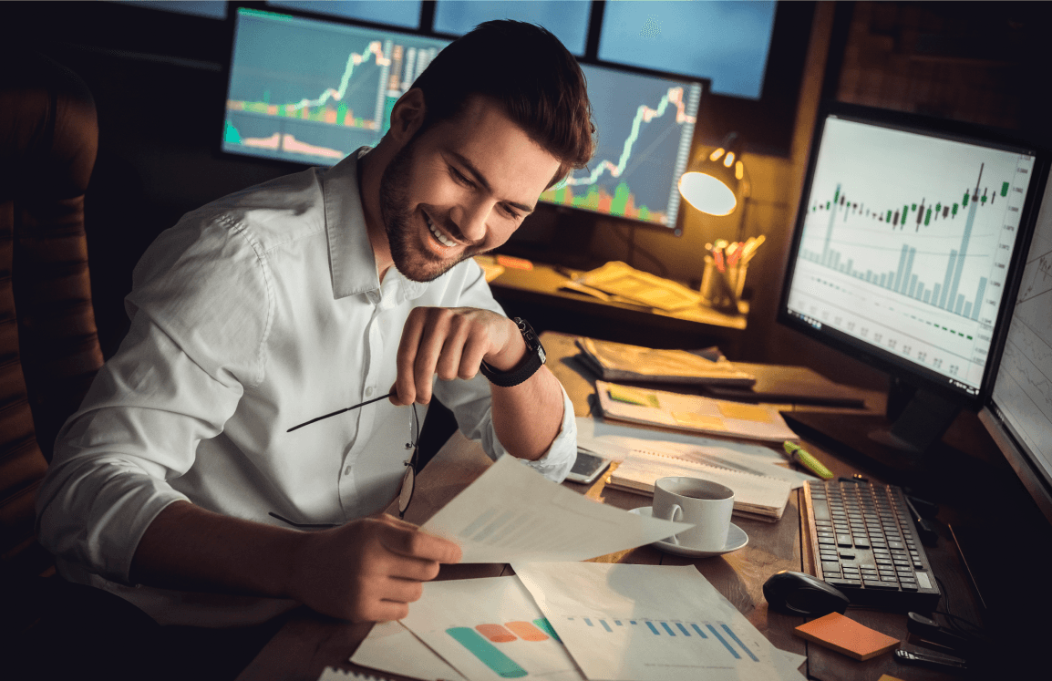 Trading requires good strategies