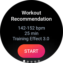 Workout Recommendation
