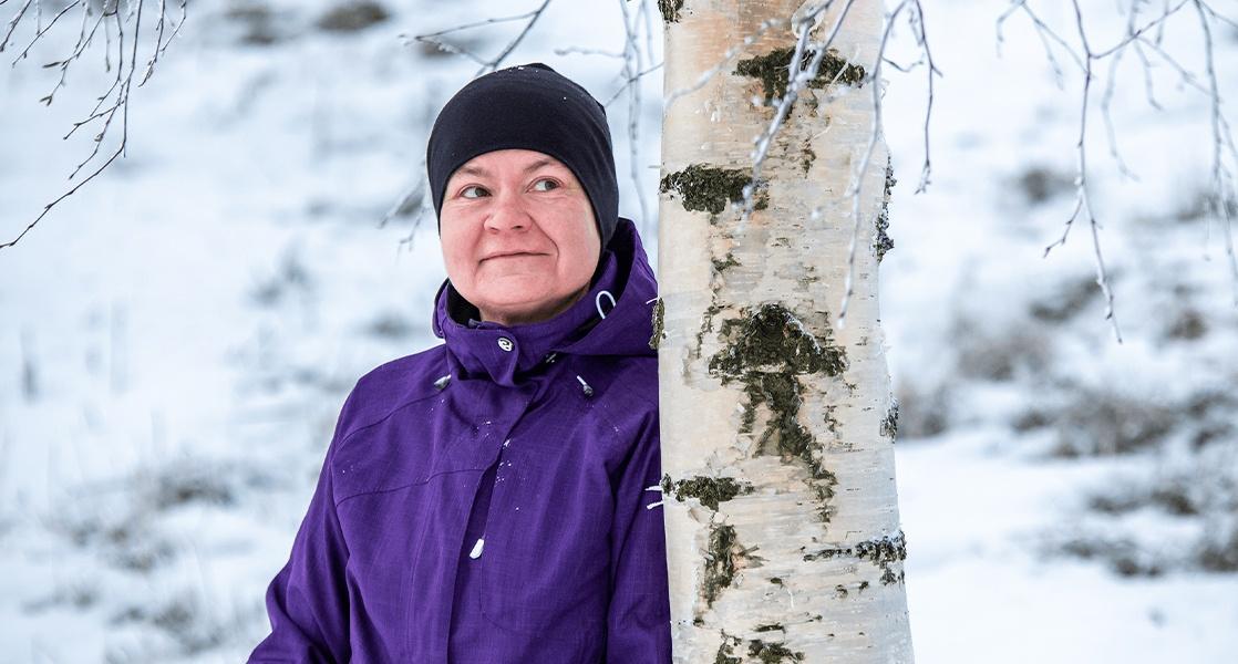 Virve Suomela löysi uudet elämäntavat ja hyvinvoinnin