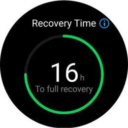 Recovery Time Huawei Watch GT