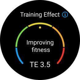Training Effect Huawei Watch GT