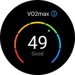 VO2max Huawei Watch GT