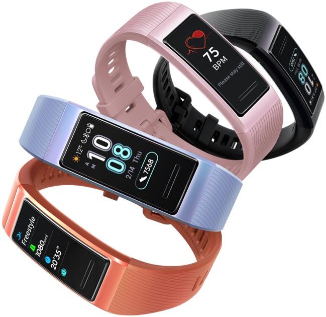 Huawei Band 3 colors