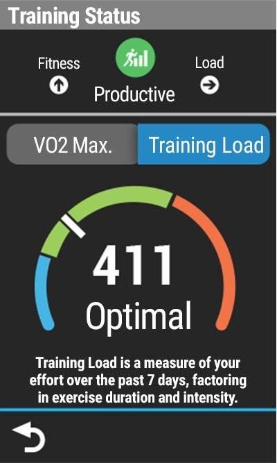 Training Status, Training Load and VO2max