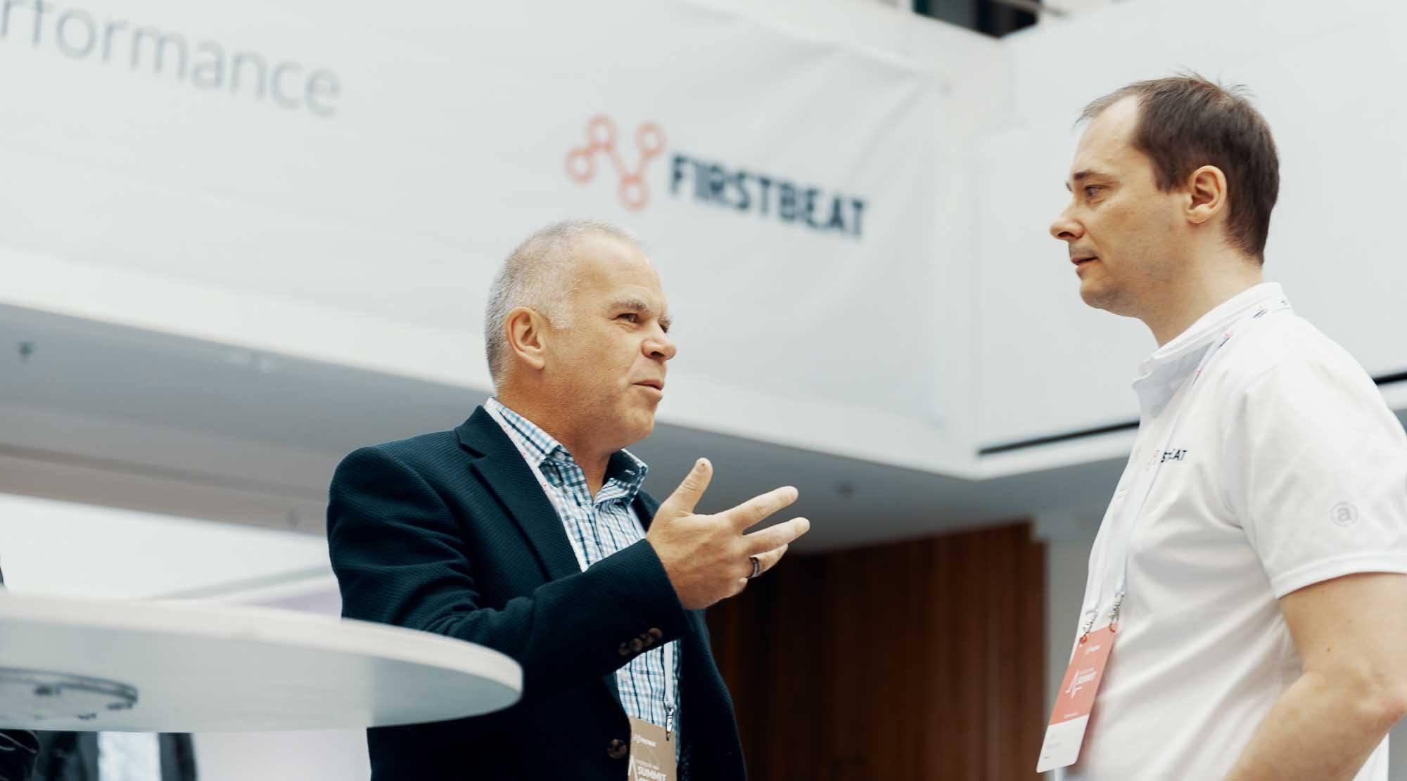 CEO Joni Kettunen in Firstbeat HRV Summit 2019