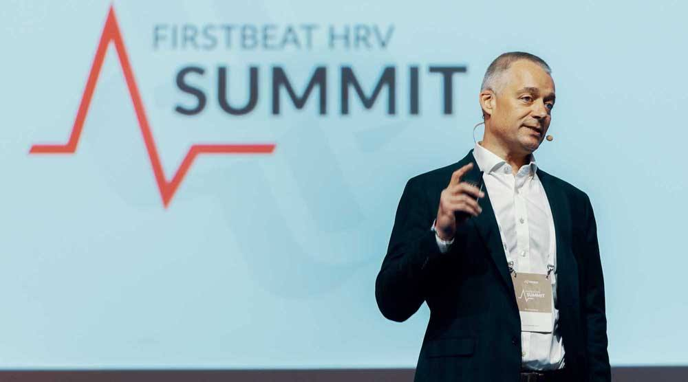 Reg Grant Strength and Conditioning Coach at Firstbeat HRV Summit