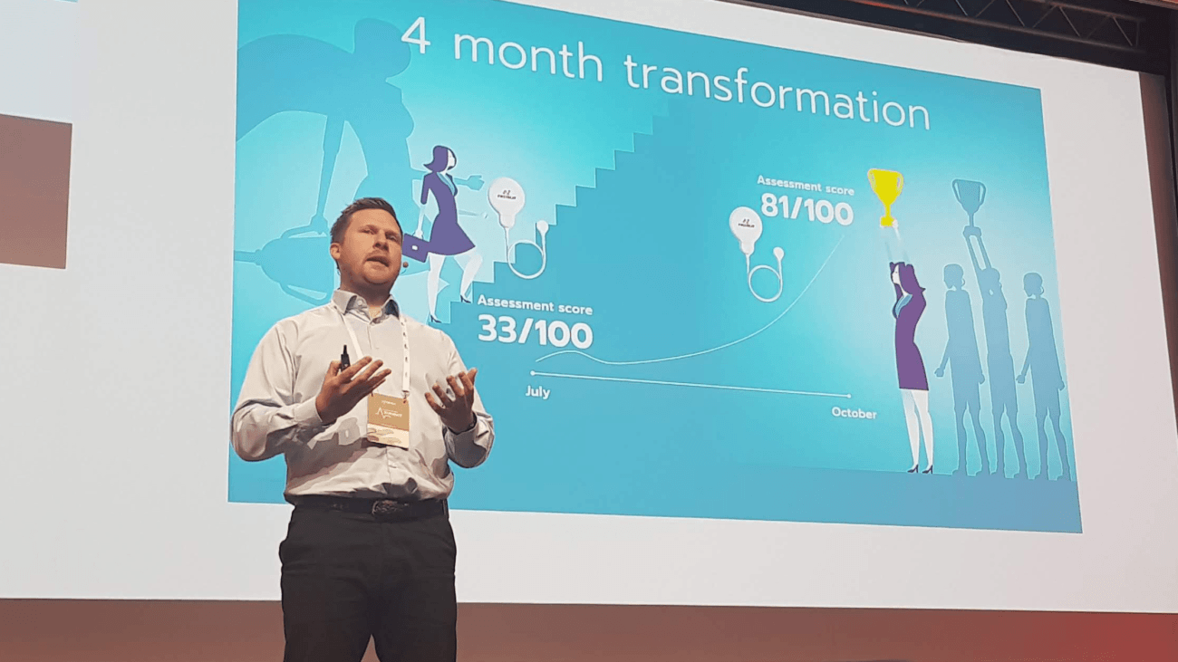 Jason Howlett at Firstbeat HRV Summit 2019
