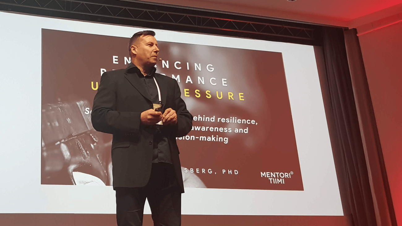 Harri Gustafsberg at Firstbeat HRV Summit 2019