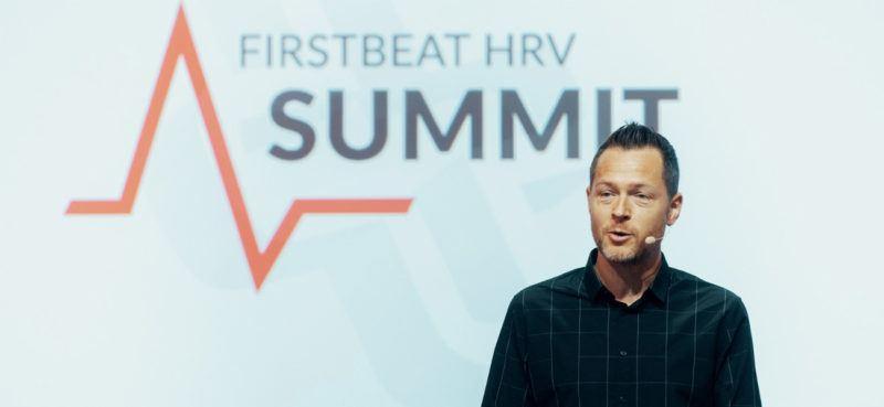 Martin Buchheit at Firstbeat HRV Summit 2019