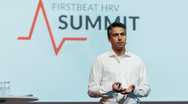 veli-pekka kurunmaki at firstbeat hrv summit 2019
