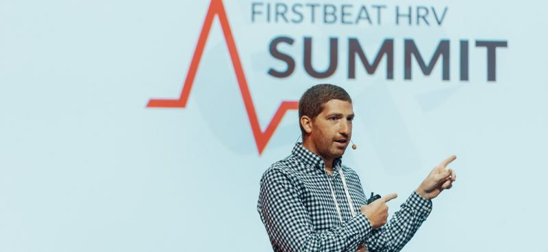 DC Rainmaker at Firstbeat HRV Summit 2019