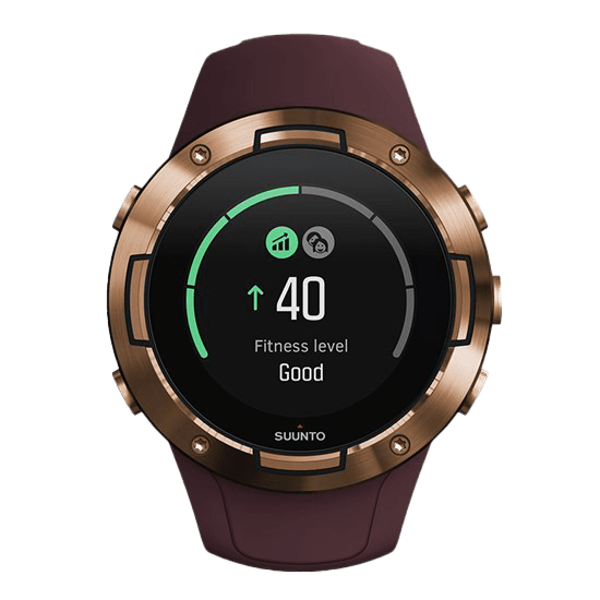 Suunto 5 Fitness Level