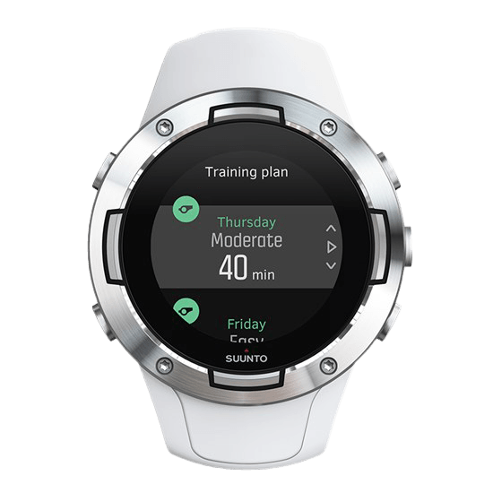 Suunto 5 Training Plan