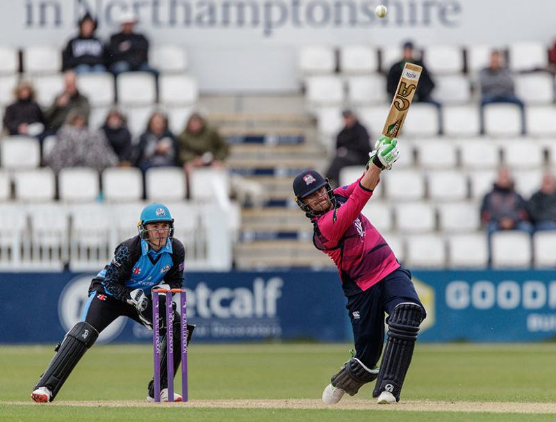 Northants Steelbacks in action