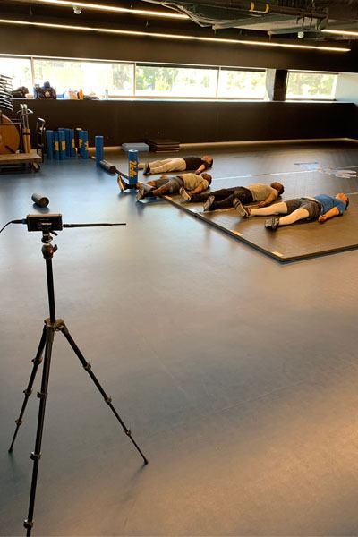 UCLA football uses Firstbeat Quick Recovery Test
