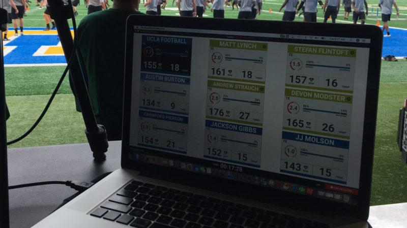 UCLA Football uses Firstbeat Sports
