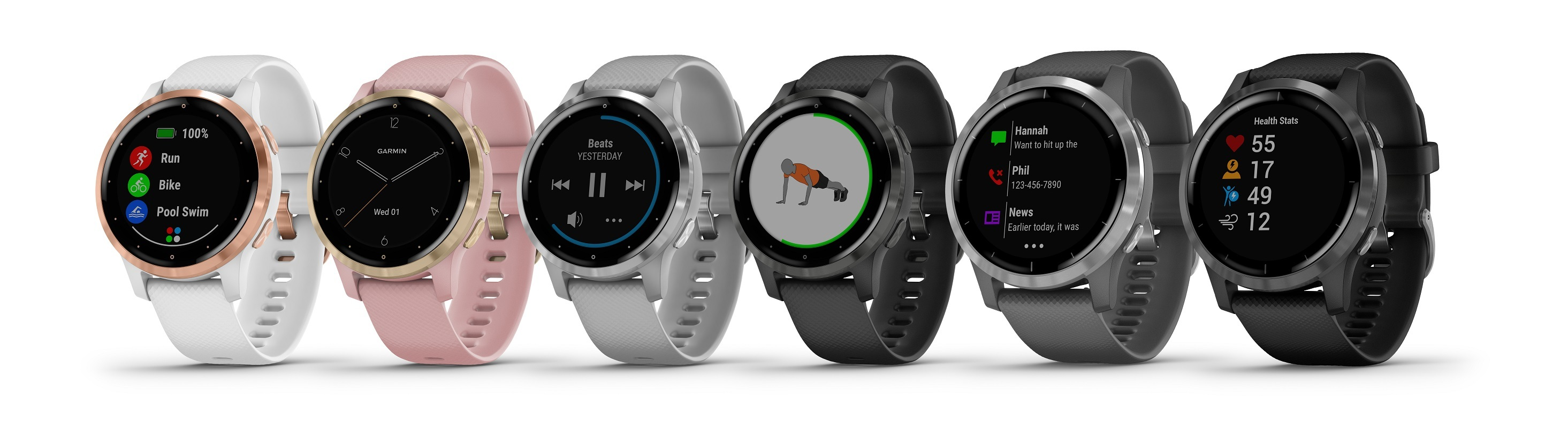 Garmin Vivoactive 4 Colors