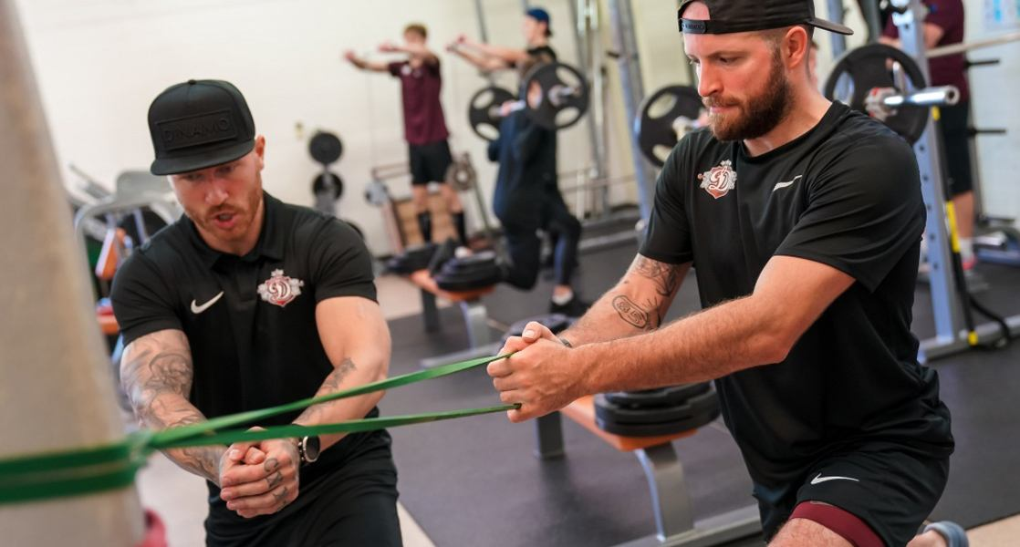 Dinamo Riga uses Firstbeat Sports to track and record individual athlete's responses to training