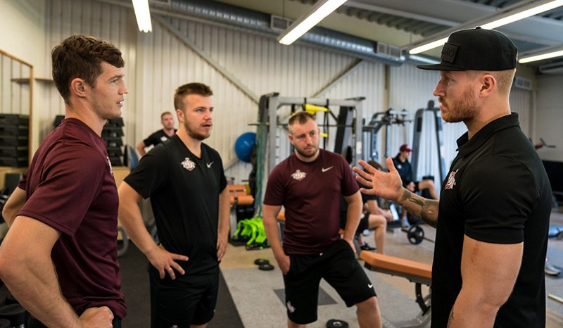 Firstbeat Sports helps Dinamo Riga players to find a good balance between training and recovery