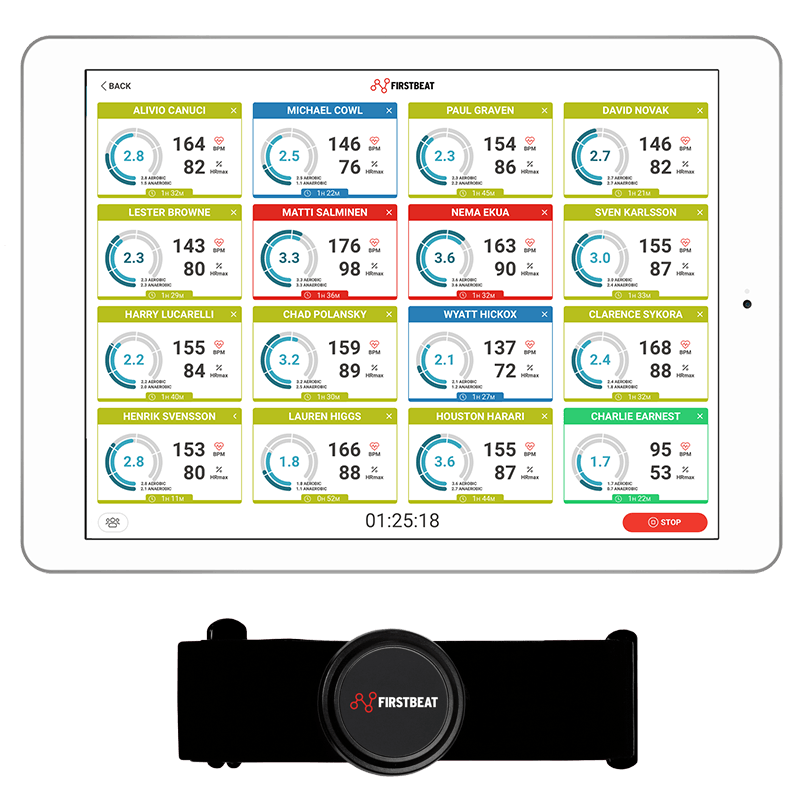 Firstbeat Sport Sensor and Live app