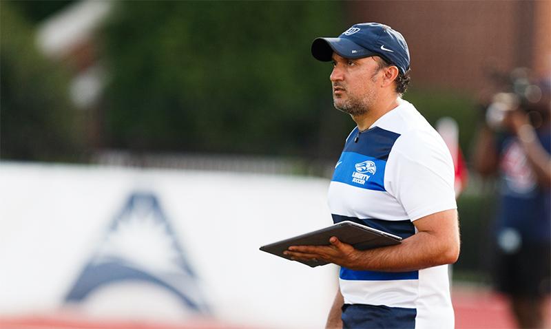 Firstbeat Coach Profile: A.J.Madero – Liberty University Men's Soccer