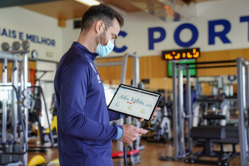 Firstbeat Sports Live app, Telmo Sousa | FC Porto